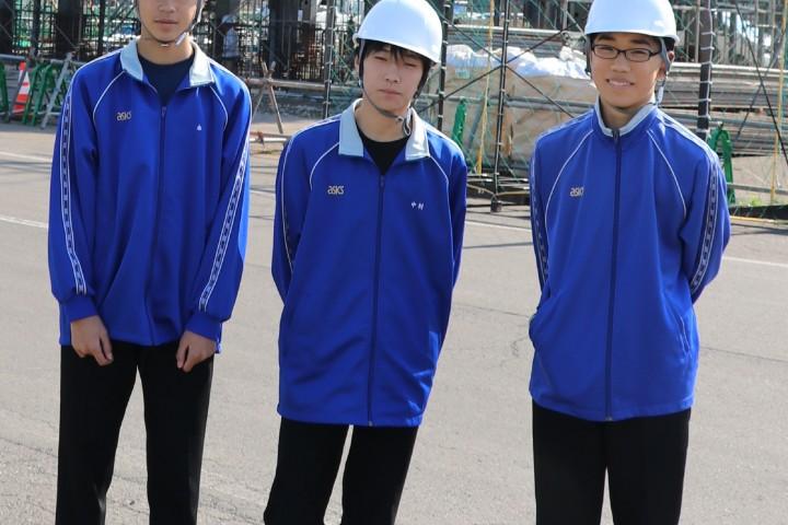 10月16日(火)室蘭市立港北中学校「職業体験学習」受入レポート